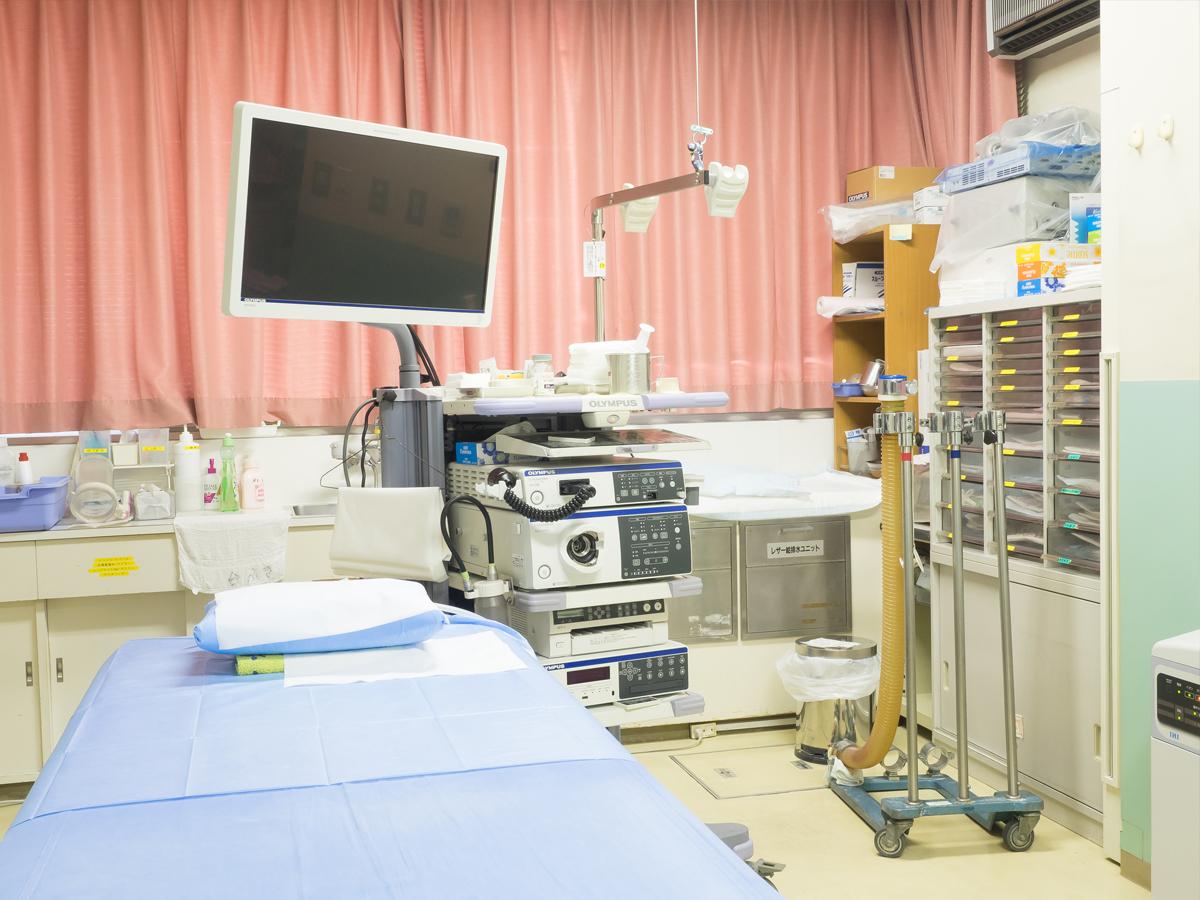 はらだ病院の内視鏡検査