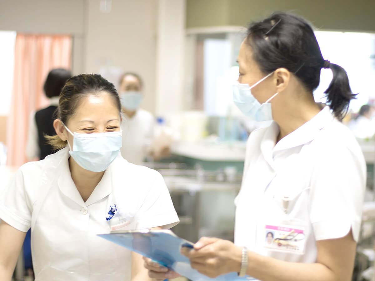 はらだ病院の看護体制