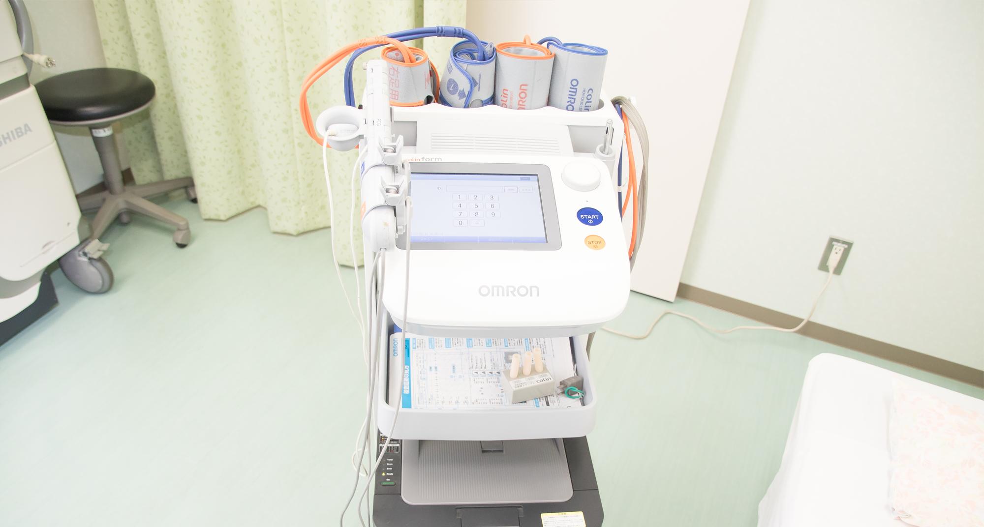 WV/ABI検査(血圧脈波検査)